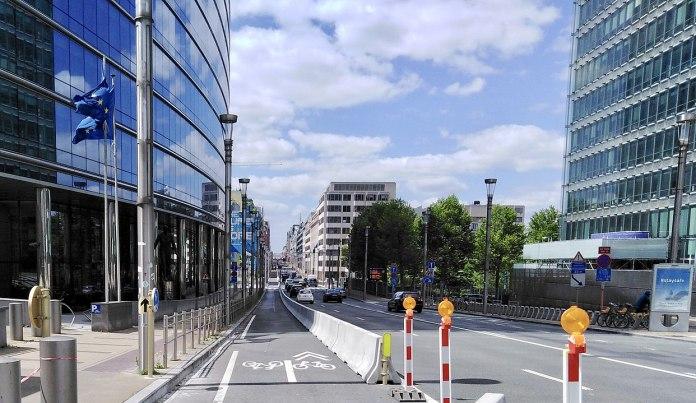 Brüssel während des COVID-19 Lockdown. Foto Zinneke, CC BY-SA 3.0, https://commons.wikimedia.org/w/index.php?curid=90571886