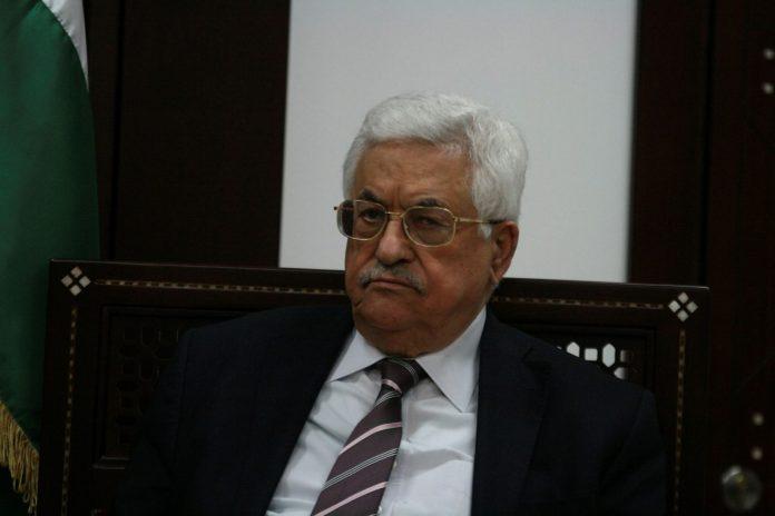 Palästinenserpräsident Mahmoud Abbas. Foto Ehud Amiton/TPS