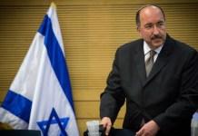 Dr. Dore Gold bei einer Sitzung des Knesset-Ausschusses in Jerusalem am 25. Juli 2016. Foto Yonatan Sindel/Flash90