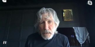 Roger Waters. Foto Screenshot Shehab News Agency