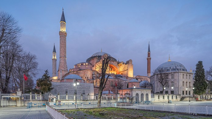 Hagia Sophia in Istanbul, Türkei. Foto A.Savin(Wikimedia Commons·WikiPhotoSpace), FAL, https://commons.wikimedia.org/w/index.php?curid=91983904
