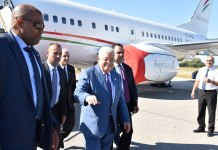 Der palästinensische Präsident Mahmud Abbas bei seiner Ankunft in New York zur UNO-Vollversammlung am 21. September 2019. Foto US Diplomatic Security Service, Public Domain, https://commons.wikimedia.org/w/index.php?curid=84764529