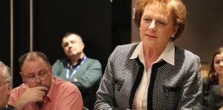 Valentina Leskaj. Foto OSCE Parliamentary Assembly from Copenhagen, Denmark, 12 November 2016, CC BY-SA 2.0, https://commons.wikimedia.org/w/index.php?curid=54681887