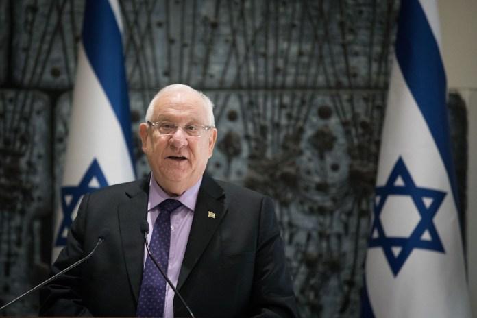 Der israelische Präsident Reuven Rivlin. Foto Yonatan Sindel/Flash90.