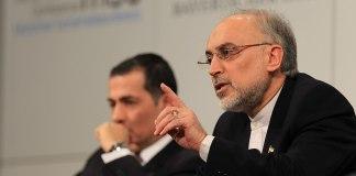 Leiter der iranischen Atomenergiebehörde Ali Akbar Salehi. Foto Wuest / MSC, CC BY 3.0 de, https://commons.wikimedia.org/w/index.php?curid=30976197
