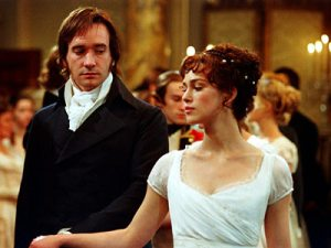 Based on: Pride and Prejudice by Jane Austen, published in 1813.