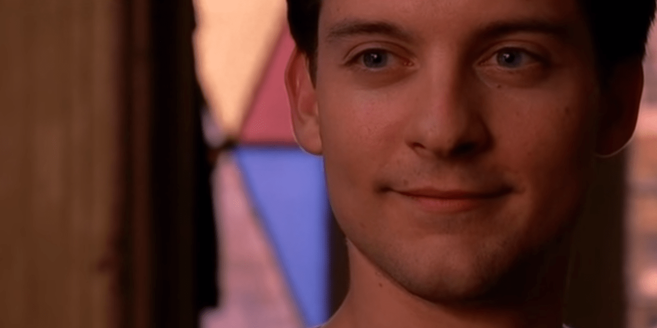 Go Get 'Em, Tobey Maguire!