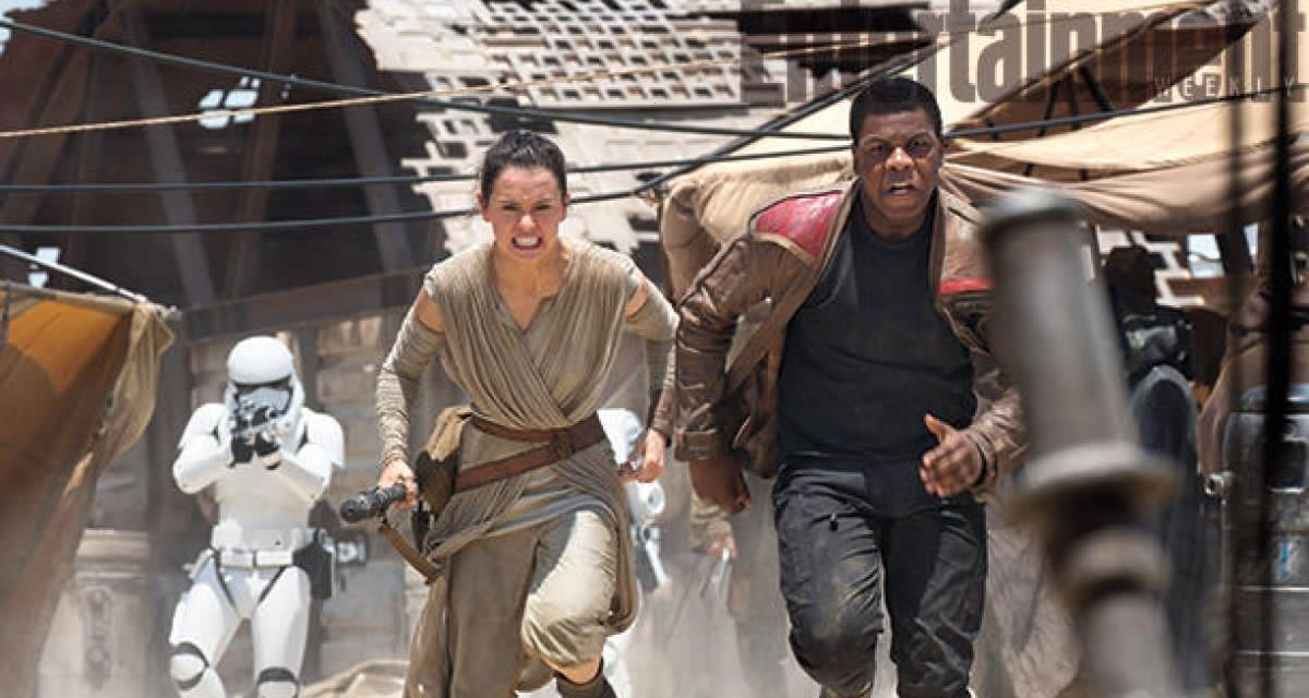 Weekly Roundup: The Force Awakens EW Cast Photos
