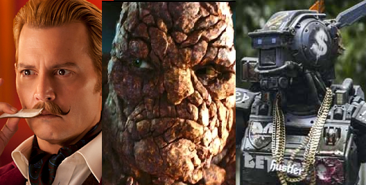 The Worst Films of 2015, or Our Harshest Over-Reactions