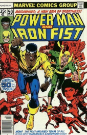 Power Man and Iron Fist #50 (Dave Cockrum, Irv Watanabe, Marvel Comics)