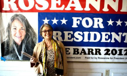 Roseanne for President! Delivers Topical Frustration