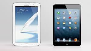 iPad Mini vs Samsung Galaxy Note 8