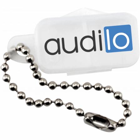 porte clef pour piles auditives audilo
