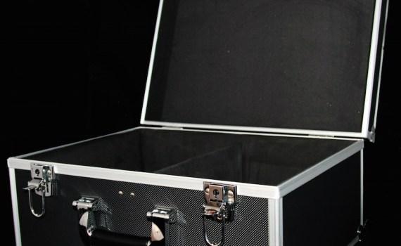 "Black 7"" 2-Lane Storage Case"