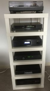 Completed Rack with HiFi