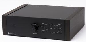PhonoBox DS2 Black, Walnut Sides