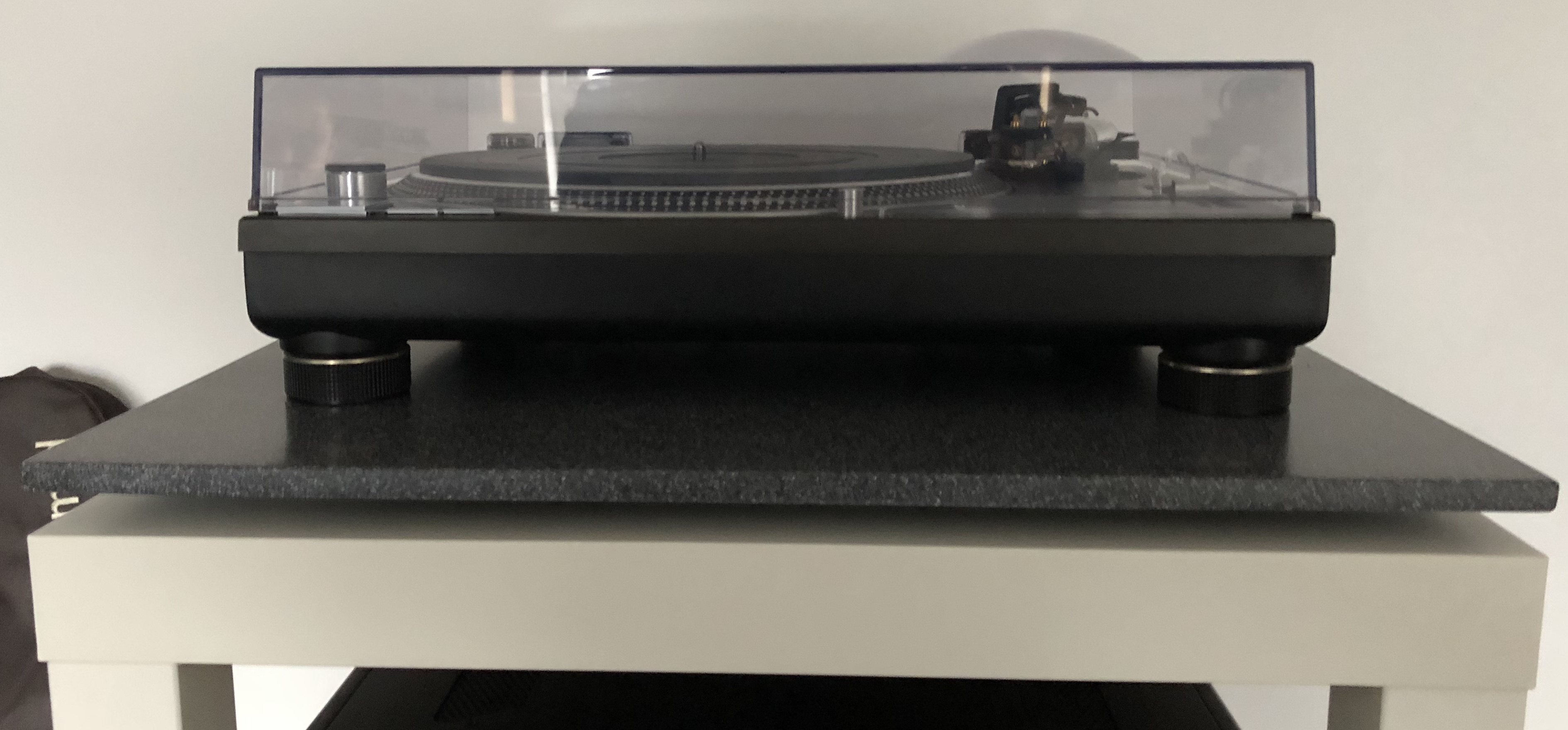Cheap Turntable Isolation Platform with Corian and Sorbothane - Audio Appraisal