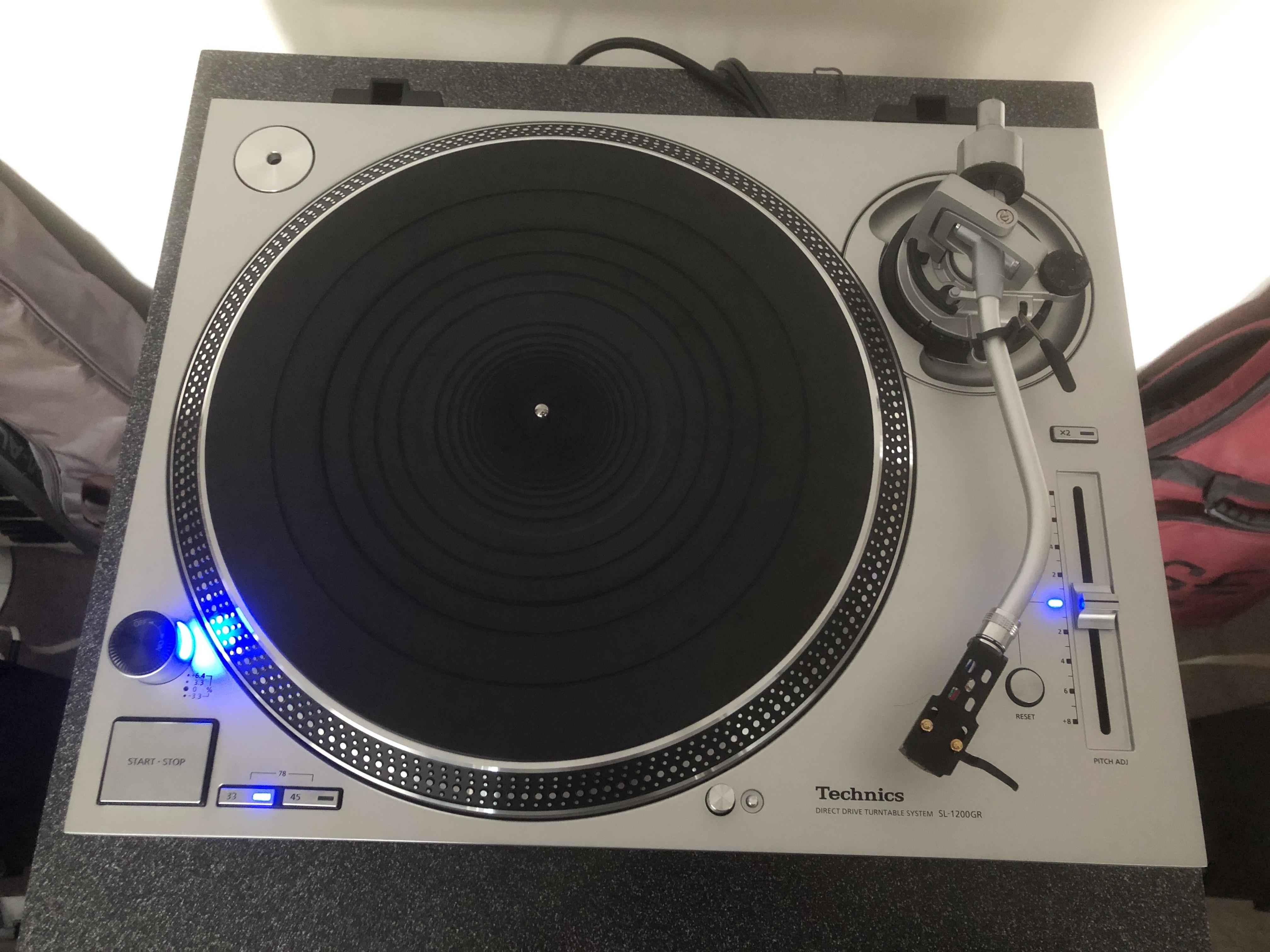Technics SL-1200GR / SL-1210GR Turntable Review - Audio