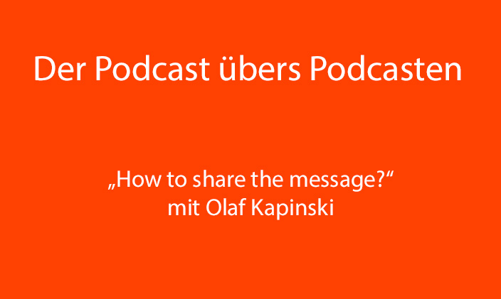 "PüP_023 ""How to share the message?"""