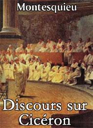 Illustration: Discours sur Cicéron - Montesquieu