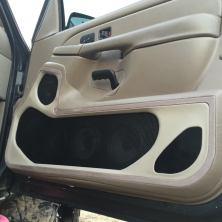 Custom Door Panel Upholstery