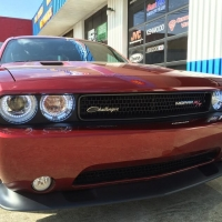 2013 Dodge Challenger - Halo Lights