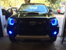 2015 Toyota Tacoma XSP-X - HID's, Halo's, Enclosure & Amplifier
