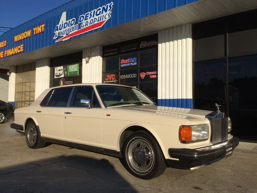 1988 Rolls Royce Silver Spur - Security, Radio, Tint