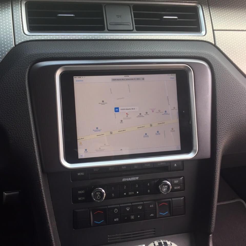 2010 2014 Ford Mustang Tablet Dash Kit