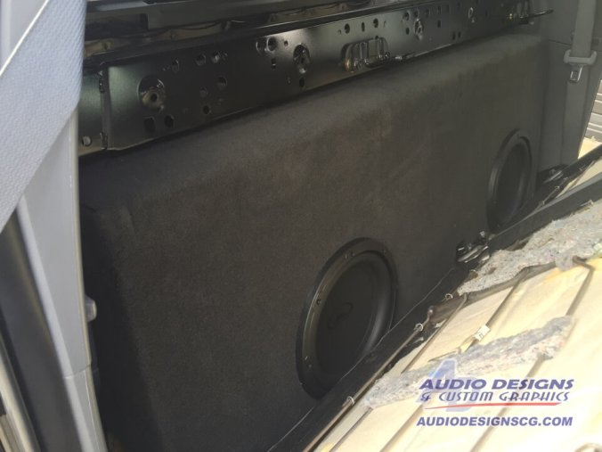 Toyota Tacoma four-door audio