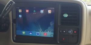 iPad In-Dash