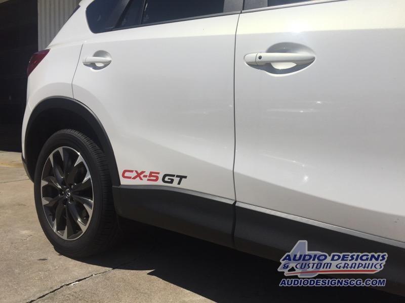 2016 Mazda CX-5 Vinyl Graphics