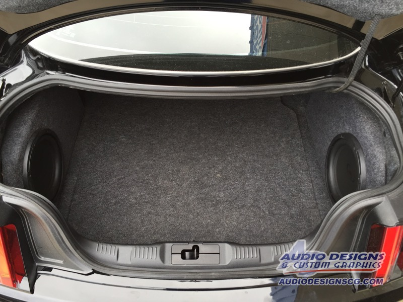 Mustang amplifier driver