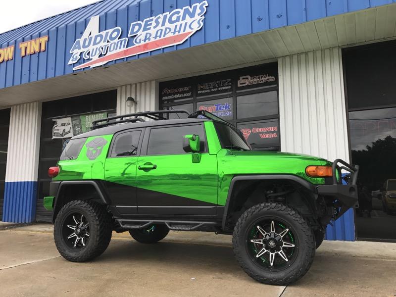 Toyota Fj Cruiser Wrap For Jacksonville Business Owner
