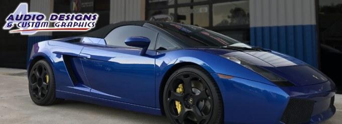 Lamborghini Gallardo Stereo System Upgrade For Jacksonville Client