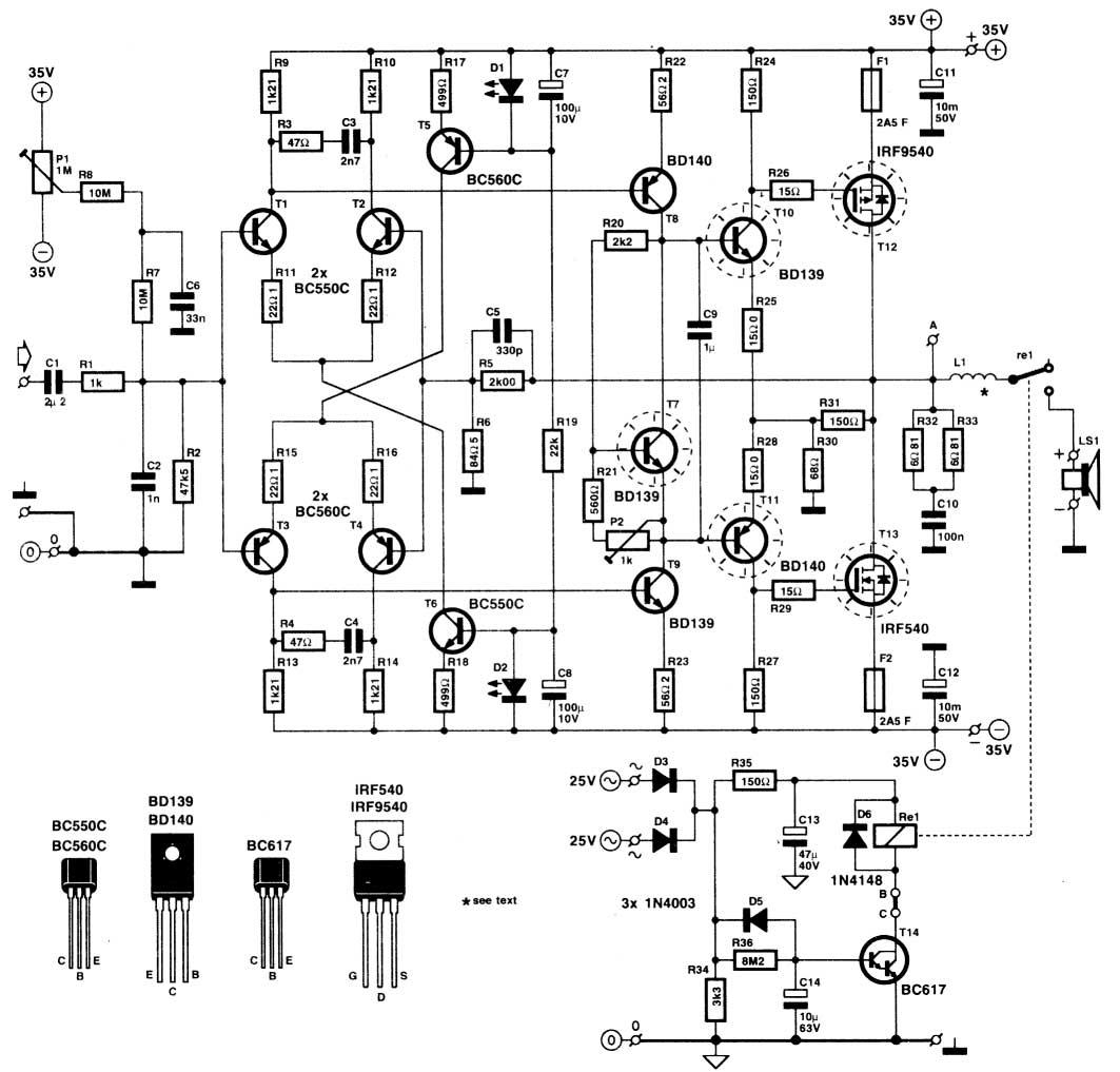 Power Relay Schematic