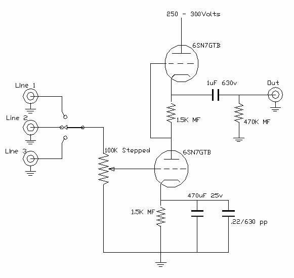 Look For 12au7 Preamp Circuit
