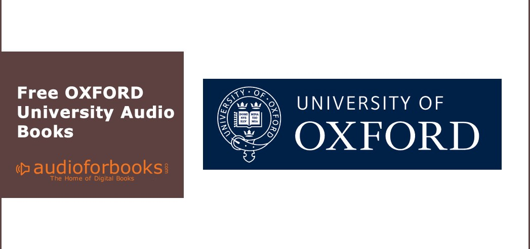 Free Online Oxford University Courses - AudioforBooks com