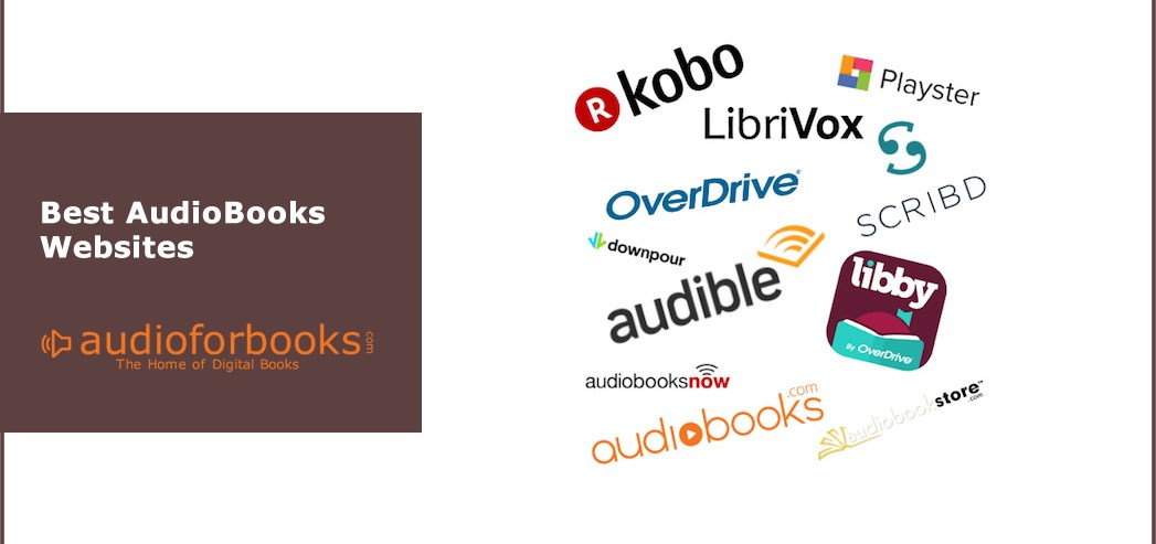 Best AudioBook Websites Free and Paid [2019] - AudioforBooks com