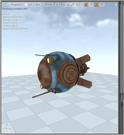 InSomnia RPG – Secure Bot Sound Design in Unreal Engine 4