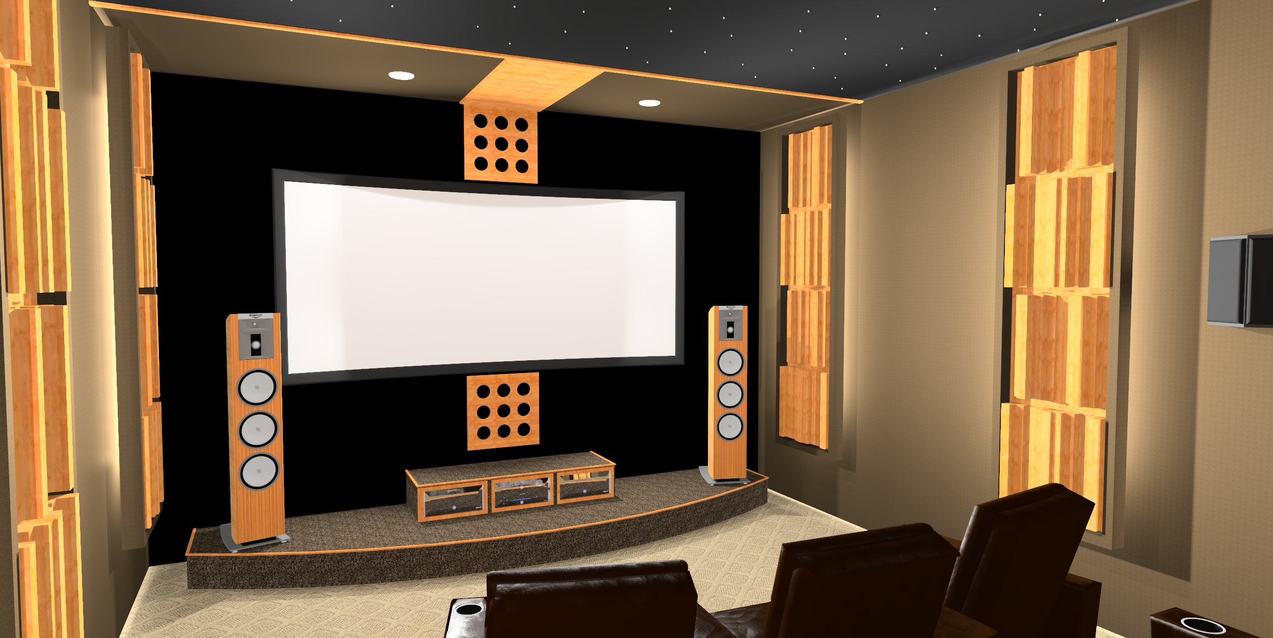 Auralex Acoustics Sustain Bamboo Diffusors Preview