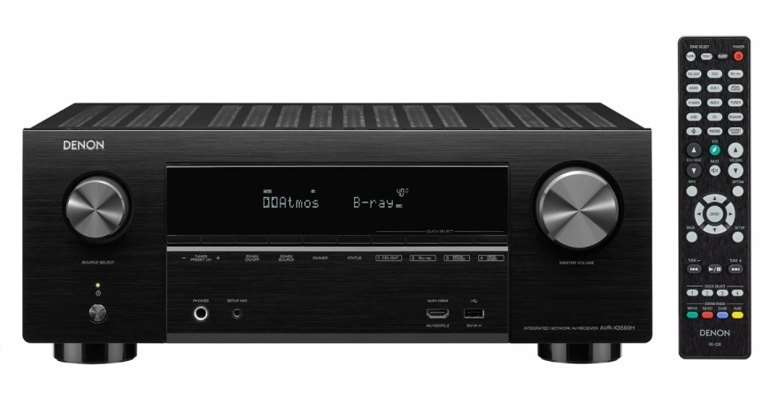 Denons AVR X3500H AV Receiver Delivers New Features Worth