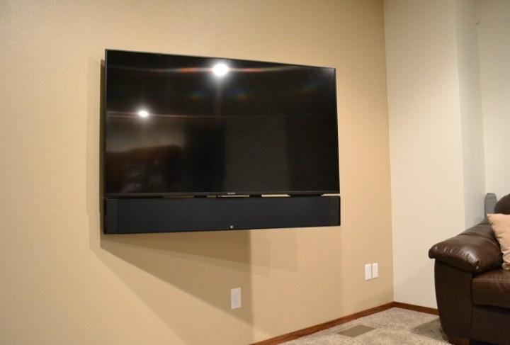 Omnimount Oe120iw Recessed Tv Mount Review Audioholics