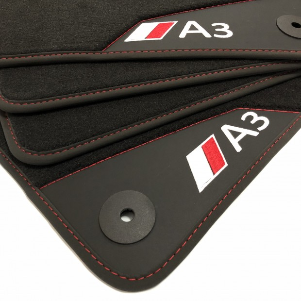 floor mats leather audi a3 8v 2012 2020