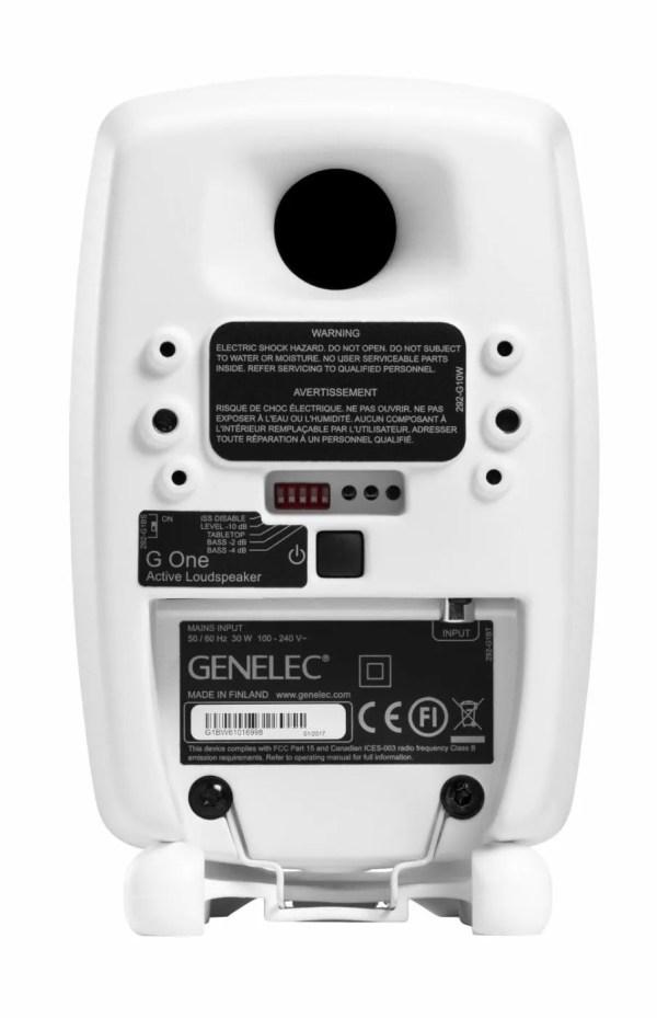 Genelec G One rear