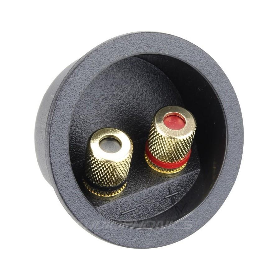 Bornier Encastr Pour Enceintes 48mm Audiophonics