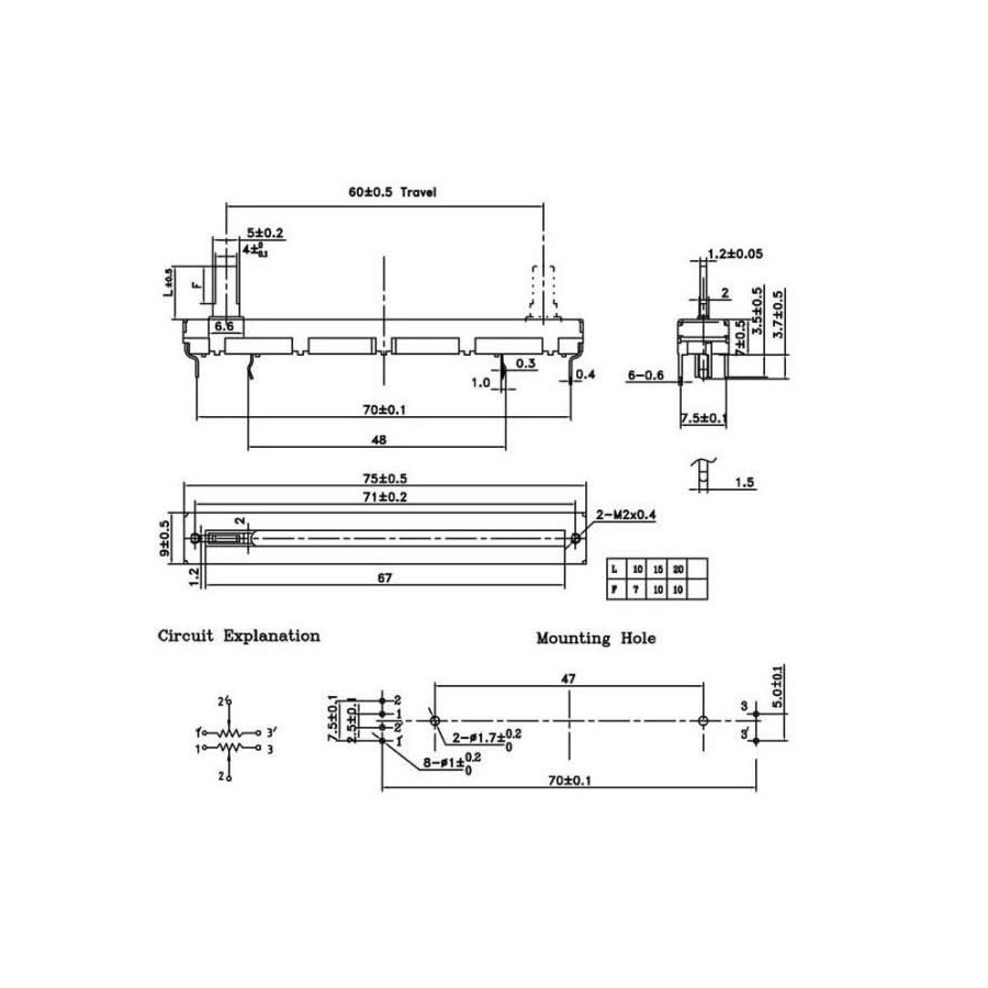 stereo linear slide potentiometer 60mm 10kohm hobart c44a wiring diagram hobart dishwasher, hobart wire hobart c44a wiring diagram at panicattacktreatment.co