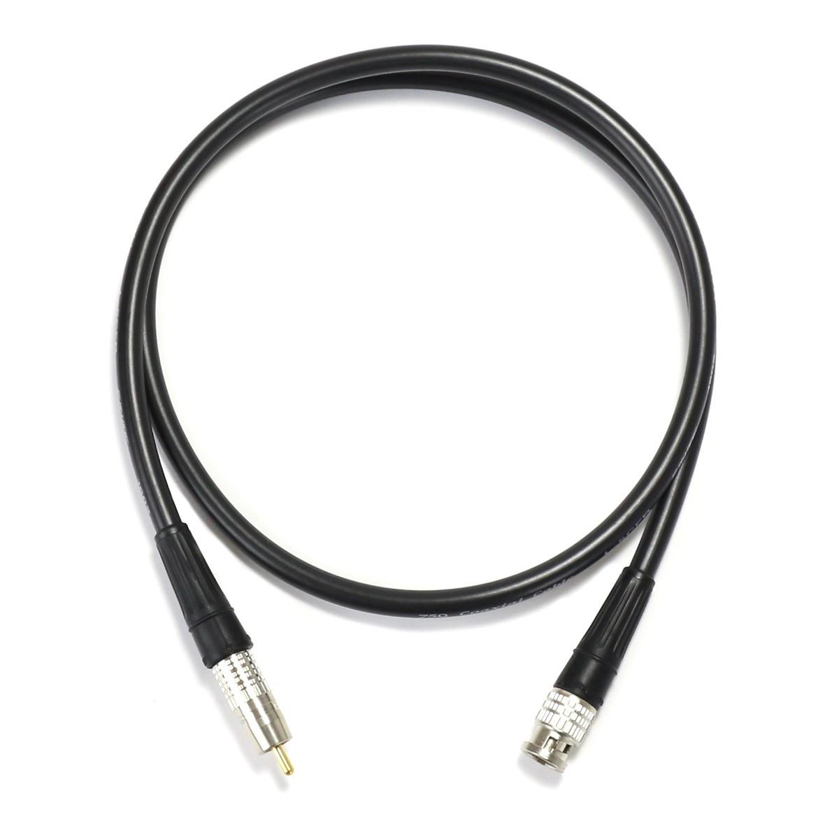 Canare Cable Numerique Coaxial 75 Ohm Bnc Rca 1m