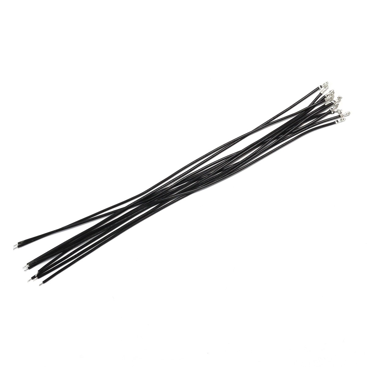 Interconnect Cable For Xh To Bare Wire 2 54mm 1 Pin 20cm Black X10