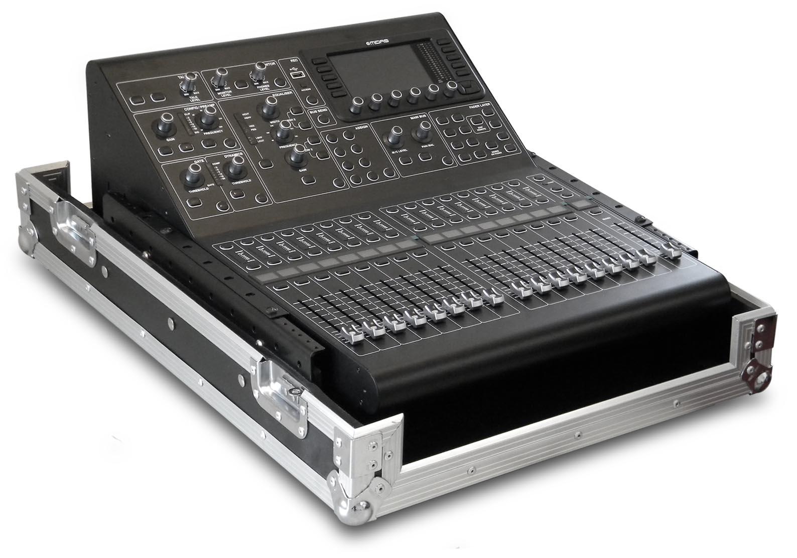 mxc m32r rack mount mixer case for midas m32r mixing consoles